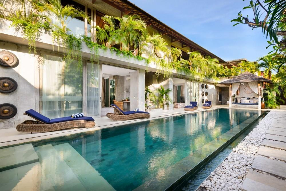 Ipanema, Large and  luxury villa  with private pool in Canggu, Bali, Indonesia for 10 persons...