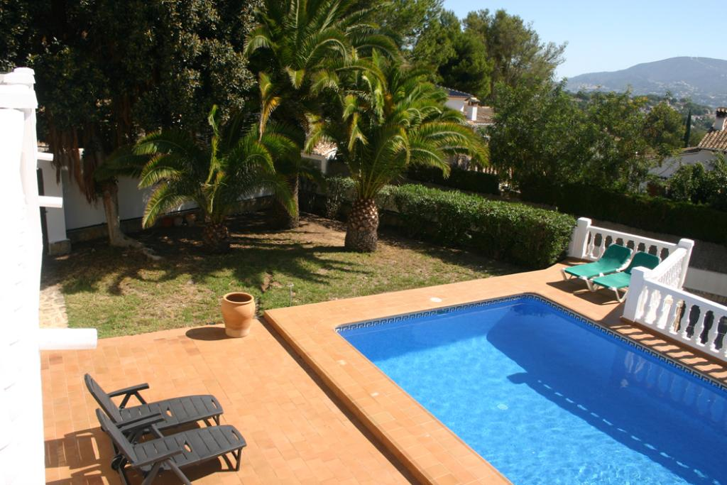 Barry 6 LT, Classic and nice holiday home  with private pool in Moraira, on the Costa Blanca, Spain for 6 persons.....