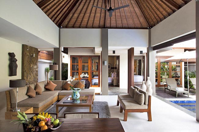 Akara 3br, Beautiful and nice villa  with private pool in Seminyak, Bali, Indonesia for 6 persons...