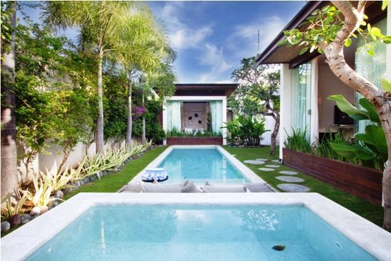 Cium,Villa bonita y graciosa en Seminyak, Bali, Indonesia  con piscina privada para 6 personas...