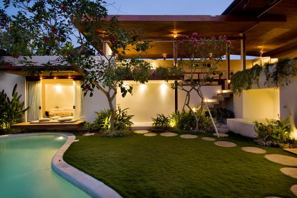 Surga,Beautiful and luxury villa  with private pool in Seminyak, Bali, Indonesia for 4 persons...