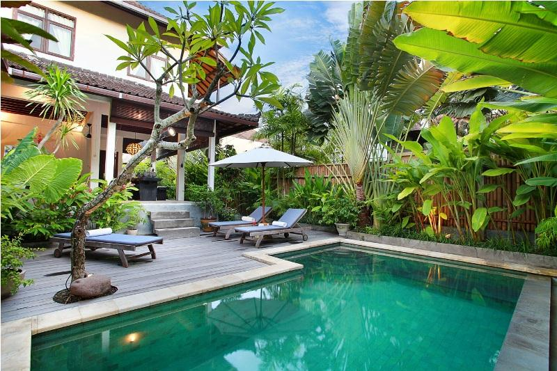 Rumah Damai, Beautiful and nice villa  with private pool in Seminyak, Bali, Indonesia for 4 persons...