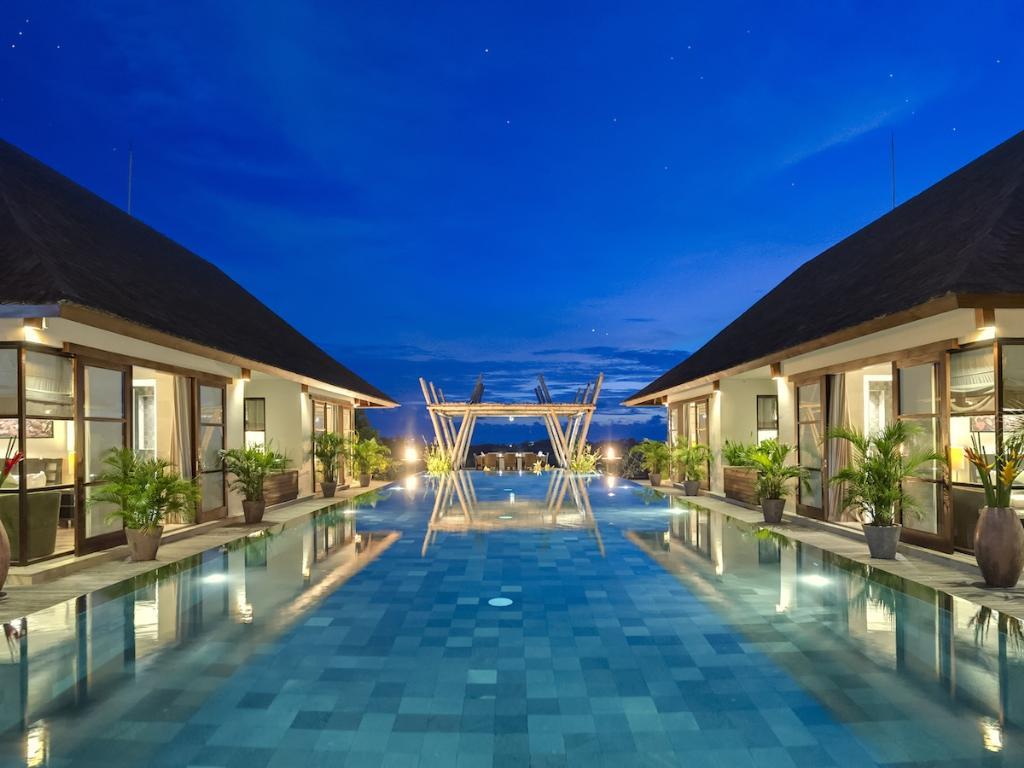 Mandalay,Grande villa de luxe  avec piscine privée à Seseh, Bali, Indonésie pour 12 personnes...