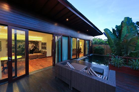 Damou, Beautiful and luxury villa  with private pool in Seminyak, Bali, Indonesia for 2 persons...