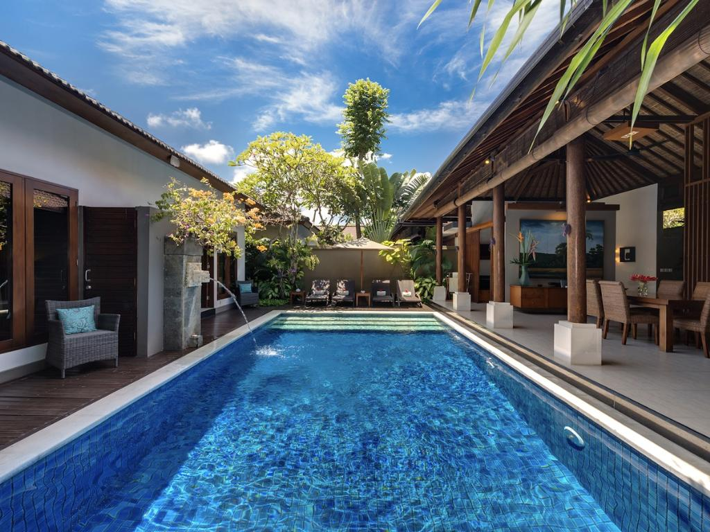 Lakshmi Toba, Beautiful and luxury villa  with private pool in Seminyak, Bali, Indonesia for 4 persons...