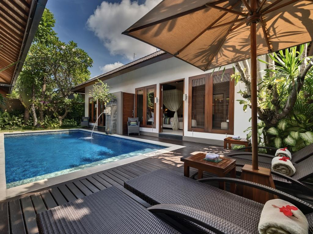 Lakshmi Kawi, Beautiful and luxury villa  with private pool in Seminyak, Bali, Indonesia for 4 persons...