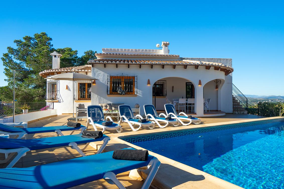 Casablanca 6, Luxury villa in Javea, on the Costa Blanca, Spain  with private pool for 6 persons...
