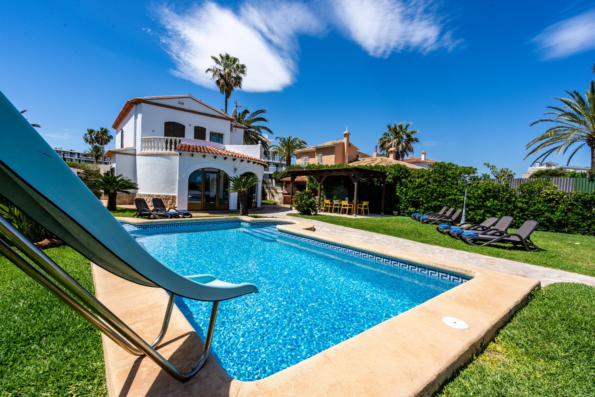Villa Neptun 6, Villa  with private pool in Denia, on the Costa Blanca, Spain for 6 persons.....
