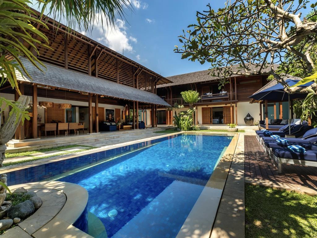 Windu Sari,Villa bonita y de lujo en Seminyak, Bali, Indonesia  con piscina privada para 8 personas...