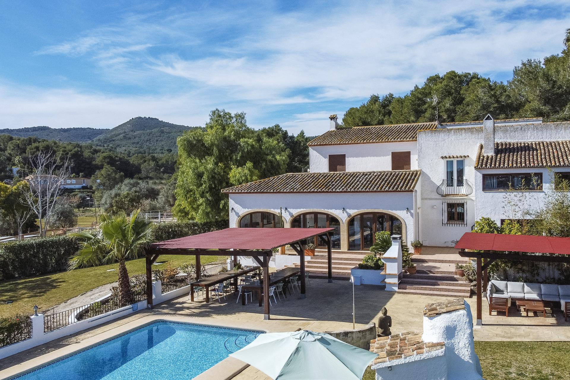 Casa Rosalia 8 pax, Comfortable villa  with private pool in Javea, on the Costa Blanca, Spain for 8 persons.....
