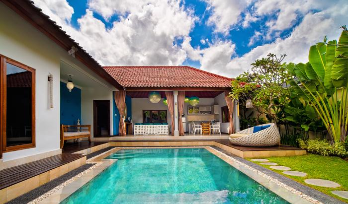 Sea 4S, Beautiful and luxury villa  with private pool in Seminyak, Bali, Indonesia for 4 persons...