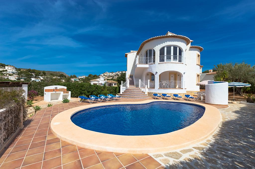 Blake 7, Villa in Teulada, on the Costa Blanca, Spain  with private pool for 7 persons...
