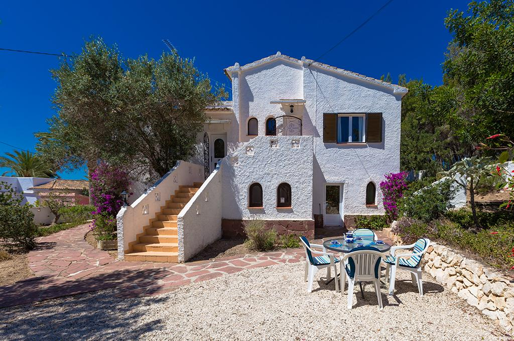 Helga 4, Villa in Benissa, on the Costa Blanca, Spain for 4 persons.....