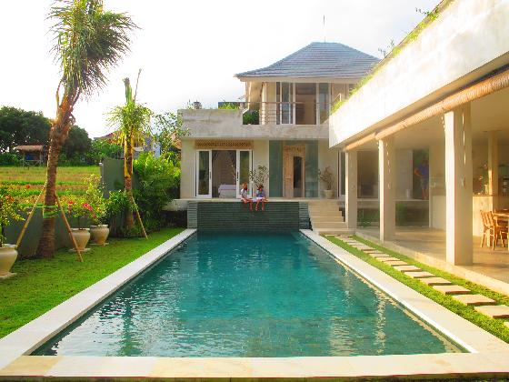 Lulan, Beautiful and luxury villa in Umalas, Bali, Indonesia  with private pool for 8 persons...
