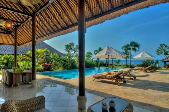 Nirwana, Large and luxury villa  with private pool in Lovina, Bali, Indonesia for 8 persons...