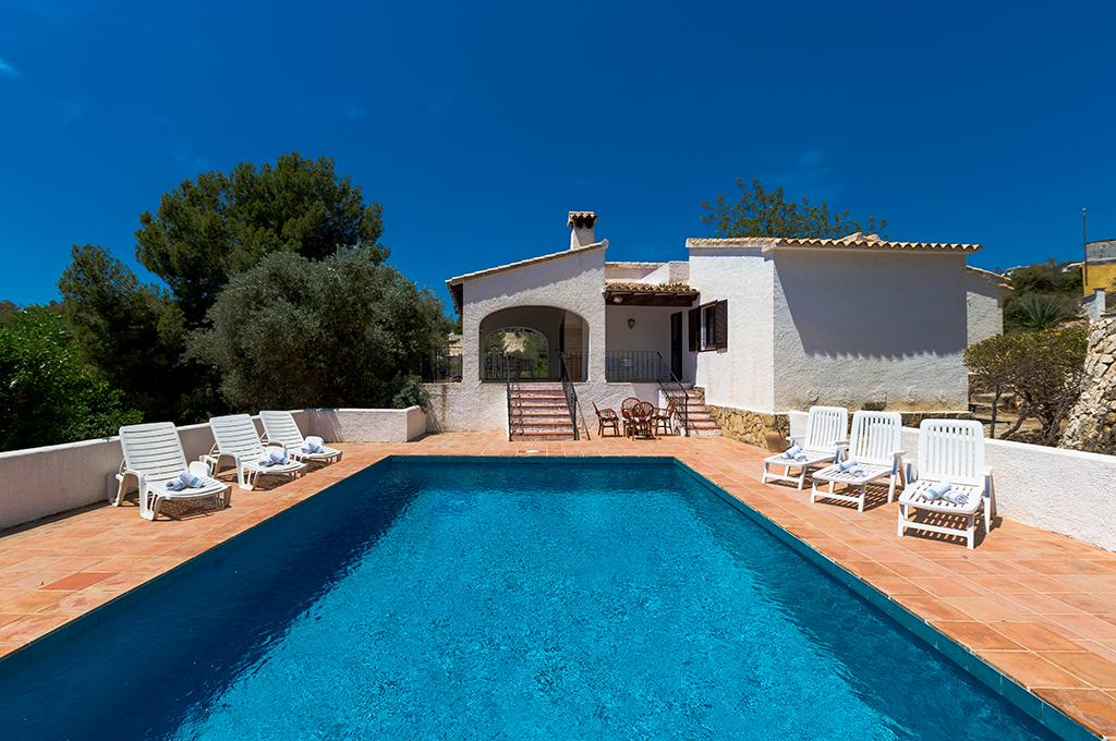 Morena 6, Villa  with private pool in Benissa, on the Costa Blanca, Spain for 6 persons...