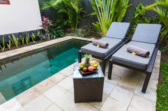Gajah, Wonderful and romantic villa in Jimbaran, Bali, Indonesia  with private pool for 2 persons...