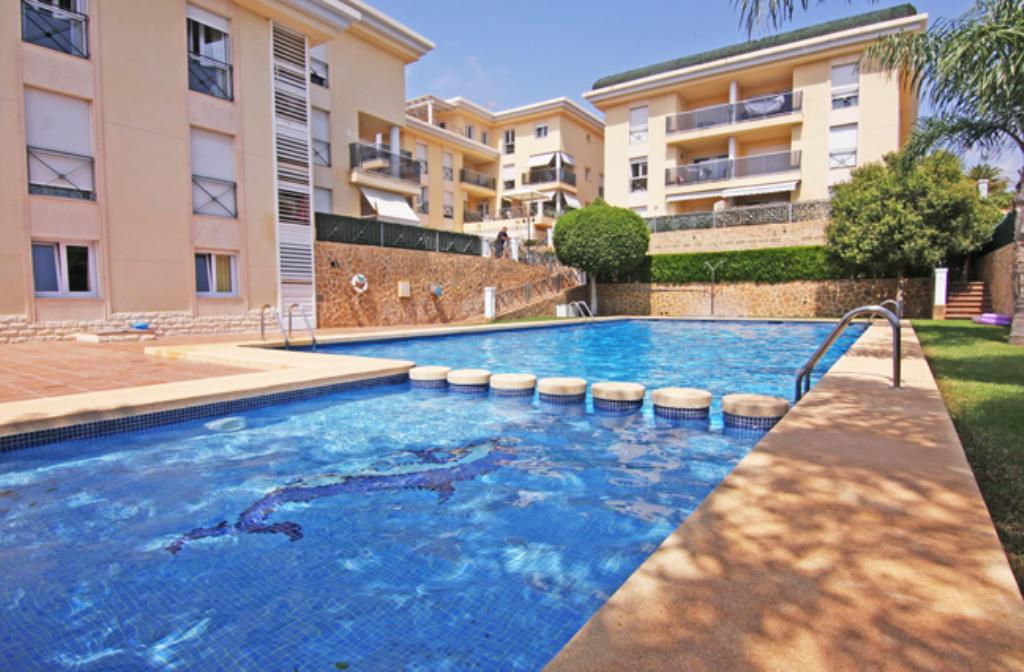 Manzanera III 6,Apartment in Calpe, on the Costa Blanca, Spain  with communal pool for 6 persons.....