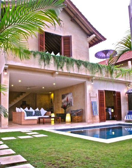 Rumi Nyaman, Beautiful and luxury villa  with private pool in Seminyak, Bali, Indonesia for 4 persons...