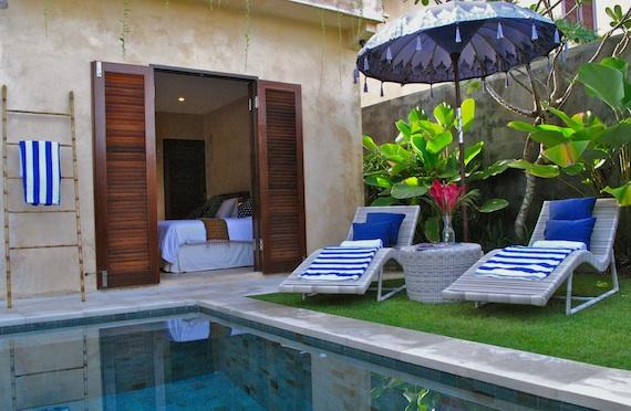 Rumi Tunjung, Beautiful and luxury villa in Seminyak, Bali, Indonesia  with private pool for 4 persons...