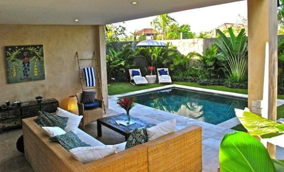 Rumi yuyu, Beautiful and luxury villa  with private pool in Seminyak, Bali, Indonesia for 4 persons...