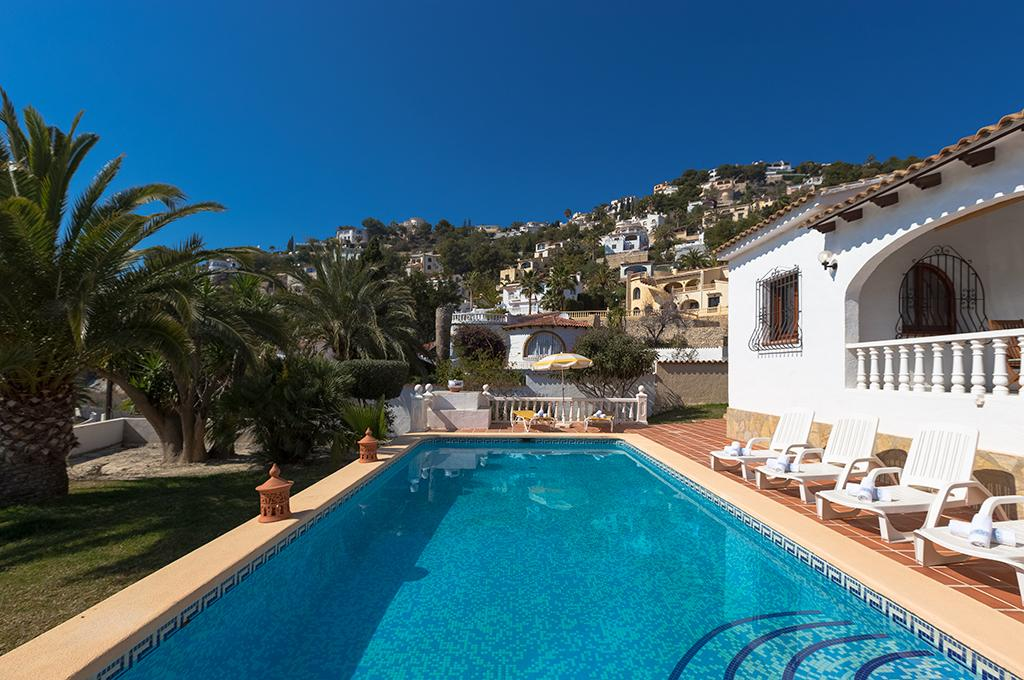 Abuelos 6, Beautiful and comfortable villa in Benissa, on the Costa Blanca, Spain  with private pool for 6 persons...