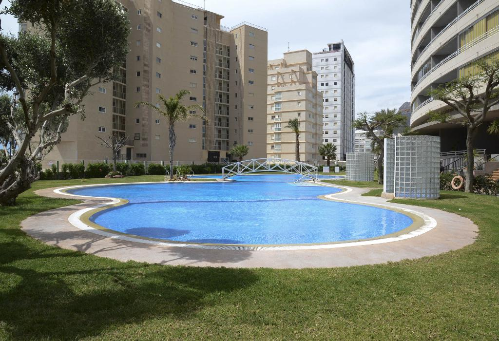 Apartamento Apolo XIV 104, Apartment in Calpe, on the Costa Blanca, Spain  with communal pool for 6 persons...