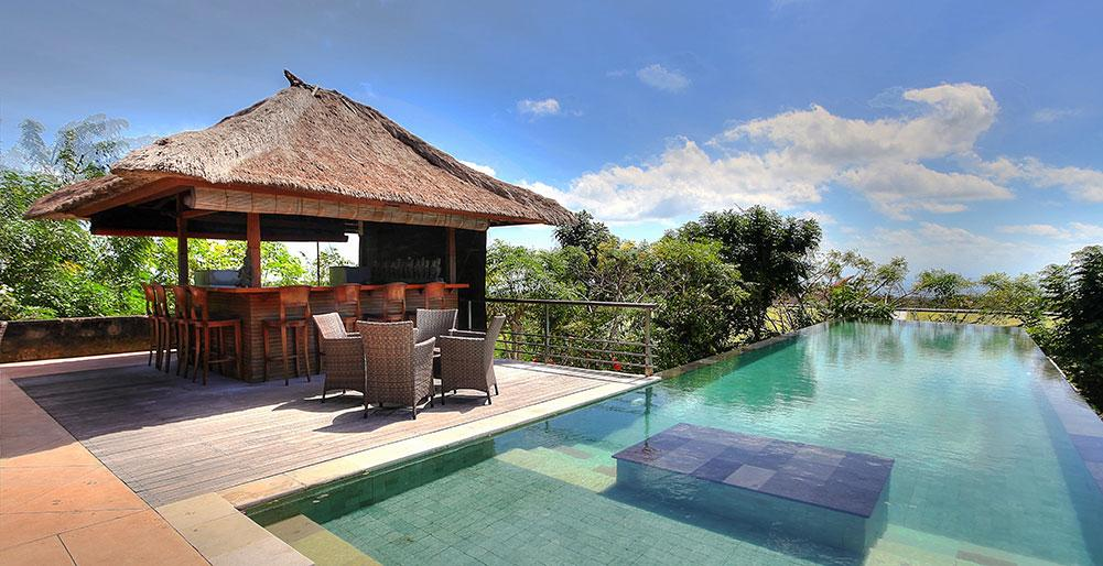 Indah Manis 5BR, Large and luxury villa  with private pool in Pecatu, Bali, Indonesia for 10 persons...