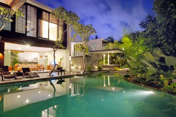 Paya paya,Villa bonita y de lujo  con piscina privada en Seminyak, Bali, Indonesia para 6 personas...