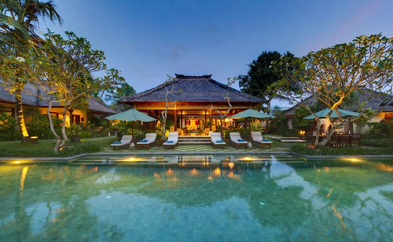 Surya damai, Large and luxury villa  with private pool in Umalas, Bali, Indonesia for 10 persons...