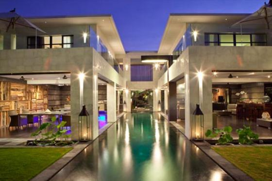 Casa hannah, Modern and luxury villa  with private pool in Seminyak, Bali, Indonesia for 10 persons...