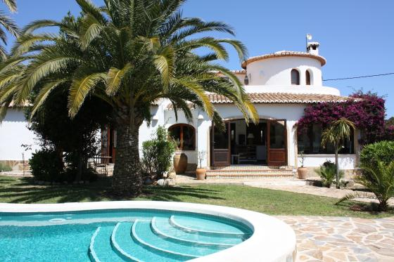 Alegria 6, Wonderful and romantic villa in Javea, on the Costa Blanca, Spain  with private pool for 6 persons...