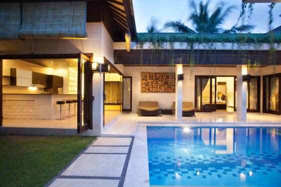 Natayani, Beautiful and nice villa  with private pool in Seminyak, Bali, Indonesia for 4 persons...