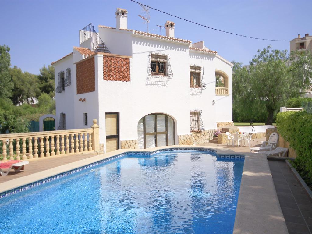 Senia, Beautiful and comfortable villa  with private pool in Javea, on the Costa Blanca, Spain for 6 persons.....