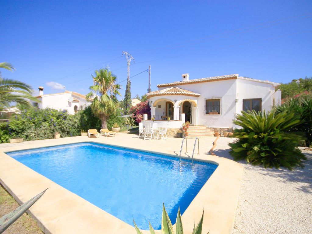 Marycar, Beautiful and romantic villa  with private pool in Javea, on the Costa Blanca, Spain for 4 persons.....