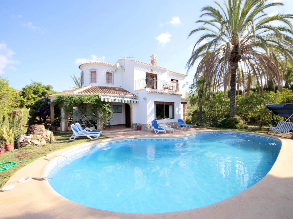 Colomer,Classic and comfortable villa in Javea, on the Costa Blanca, Spain  with private pool for 8 persons.  The villa is situated.....