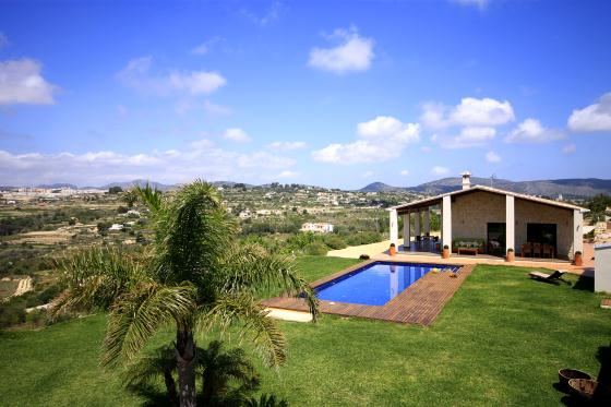 Xanadu,Modern and luxury villa in Benissa, on the Costa Blanca, Spain  with private pool for 5 persons...