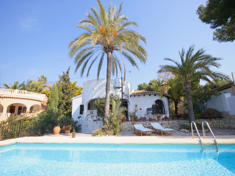 Pimpinella, Beautiful and comfortable villa  with private pool in Benissa, on the Costa Blanca, Spain for 6 persons.....