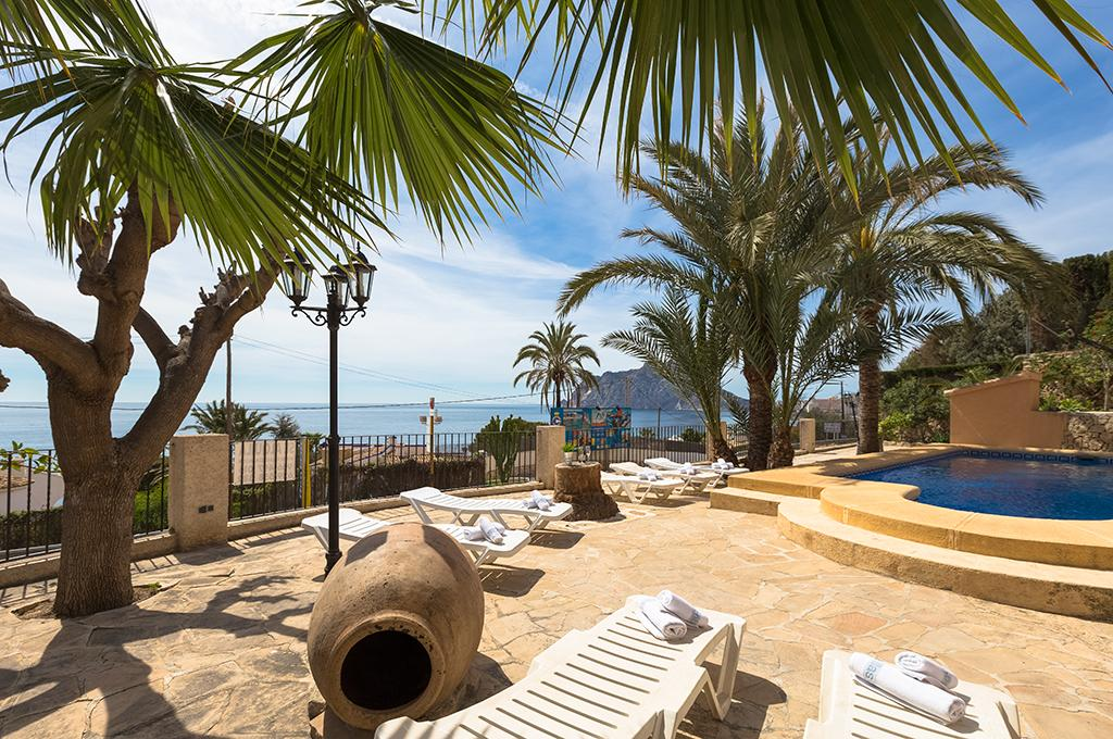 Eva  12, Beautiful villa with private pool in Benissa, Spain for 12 persons, for a nice holiday on the Costa Blanca with family,.....
