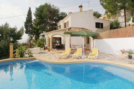 Bonestar, Large and classic villa in Javea, on the Costa Blanca, Spain  with private pool for 10 persons.....