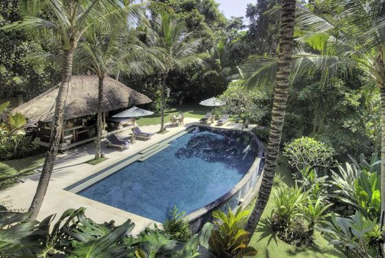 Alamanda, Large and luxury villa  with private pool in Ubud, Bali, Indonesia for 8 persons...