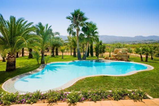 Quimera,Casa de vacaciones bonita y de lujo en Javea, en la Costa Blanca, España  con piscina privada para 10 personas...
