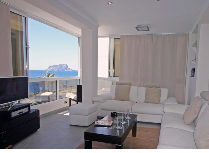 Apartamento moraira al mar, Modern and comfortable apartment in Moraira, on the Costa Blanca, Spain for 6 persons...