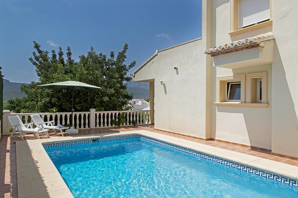 Lurie 6, Villa in Jalón - Xaló, on the Costa Blanca, Spain  with private pool for 6 persons...