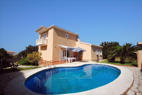 Villa Bugamvilla, Villa in Denia, on the Costa Blanca, Spain  with private pool for 6 persons.....
