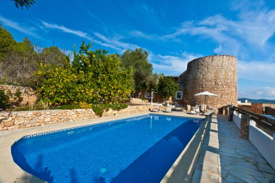 Torbes, Villa in San Antonio, Ibiza, Spain  with private pool for 8 persons...