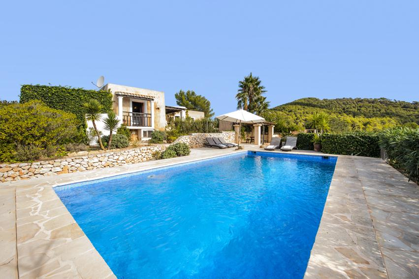 Romeros I, Country house in Cala D Hort, Ibiza, Spain  with private pool for 7 persons...