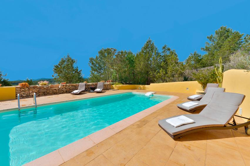 Can tum, Villa  with private pool in San Rafael, Ibiza, Spain for 8 persons...
