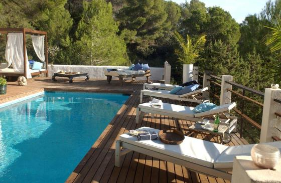 Zuki, Wonderful and cheerful villa  with private pool in Es Cubells, Ibiza, Spain for 8 persons...