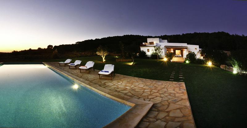 Mango, Large and comfortable villa in Santa Eulalia, Ibiza, Spain  with private pool for 9 persons...